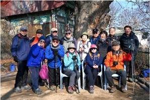 1월4일 아차산 사진